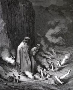 Иллюстрация Доре к Божественной комедии