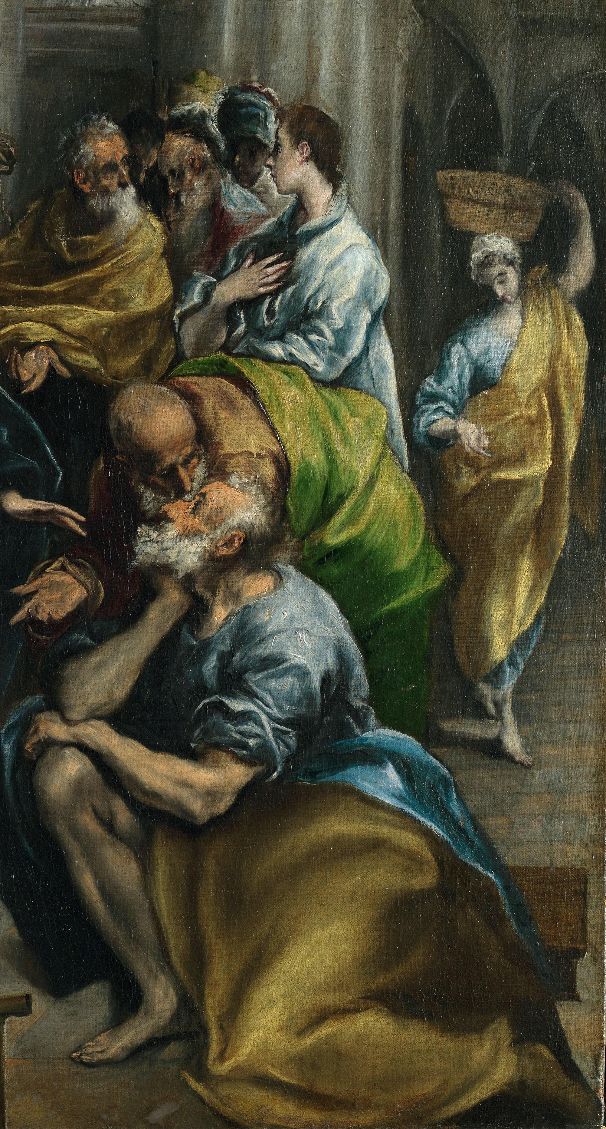 Эль греко картины на библейский сюжет — 5