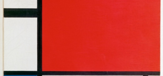 Пит Мондриан. Композиция с красным, синим и жёлтым.