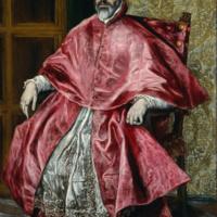 Портрета кардинала. Эль Греко.