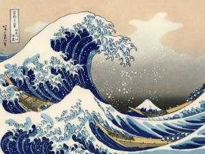 Большая волна. Хокусай.