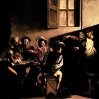 Призвание апостола Матфея. Караваджо.