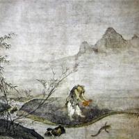Ловля рыбы тыквой. Дзёсэцу