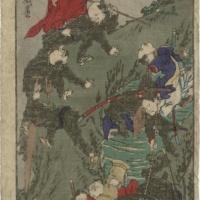 Моряки взбираются на гору