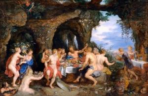 Пир богов на Олимпе. Рубенс