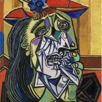 Плачущая женщина. Тейт. Пикассо.