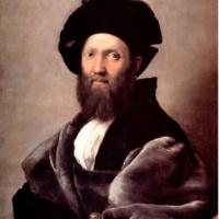 Портрет Бальдассаре Кастильоне. Рафаэль.