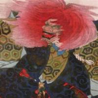 Танец львов. Каванабэ Кёсай.