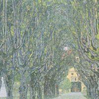 Густав Климт. Аллея в парке замка Каммер.