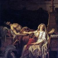 Жак-Луи Давид. Андромаха, оплакивающая Гектора.