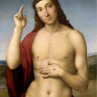 Рафаэль Санти. Благословение Христа.