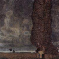Густав Климт. Большой тополь.