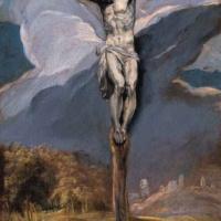 Эль Греко. Христос на кресте.