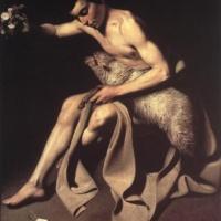 Караваджо. Иоанн Креститель.