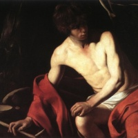 Караваджо. Иоанн Креститель. 1604