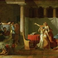 Жак-Луи Давид. Ликторы приносят Бруту тела его сыновей.