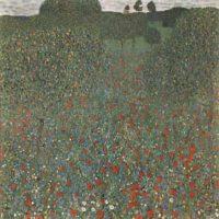 Густав Климт. Маковое поле.