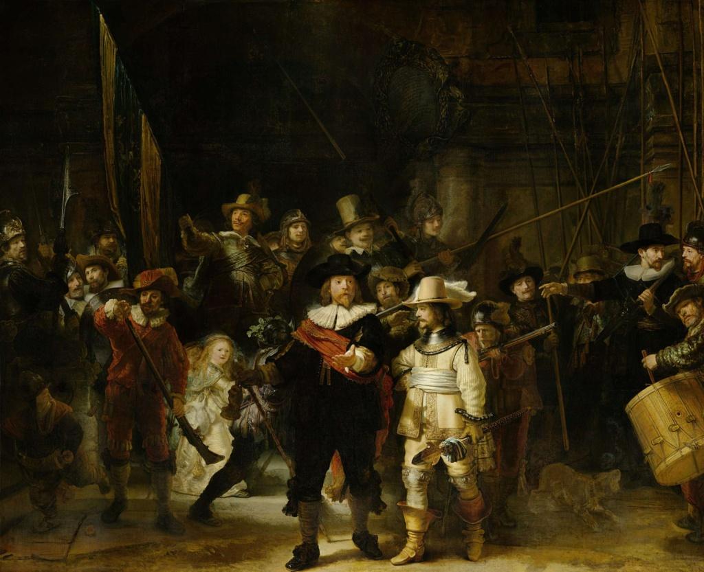 Ночной дозор. Рембрандт.
