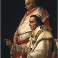 Жак-Луи Давид. Папа Пий VII и кардинал Капрара.