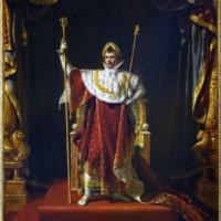Жак-Луи Давид. Портрет Наполеона в императорском одеянии.