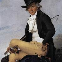 Жак-Луи Давид. Портрет Пьера Серизиа.