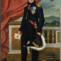 Жак-Луи Давид. Портрет барона Жерара.
