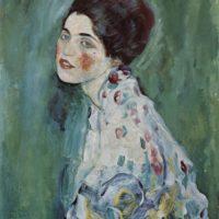 Густав Климт. Портрет дамы.