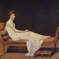 Жак-Луи Давид. Портрет мадам Рекамье.