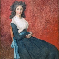 Жак-Луи Давид. Портрет мадам Трюден.