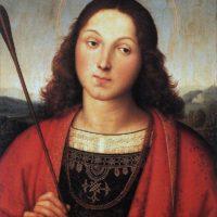 Рафаэль Санти. Святой Себастьян.