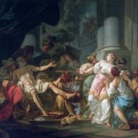 Жак-Луи Давид. Смерть Сенеки.