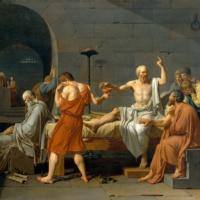 Смерть Сократа. Жак-Луи Давид.
