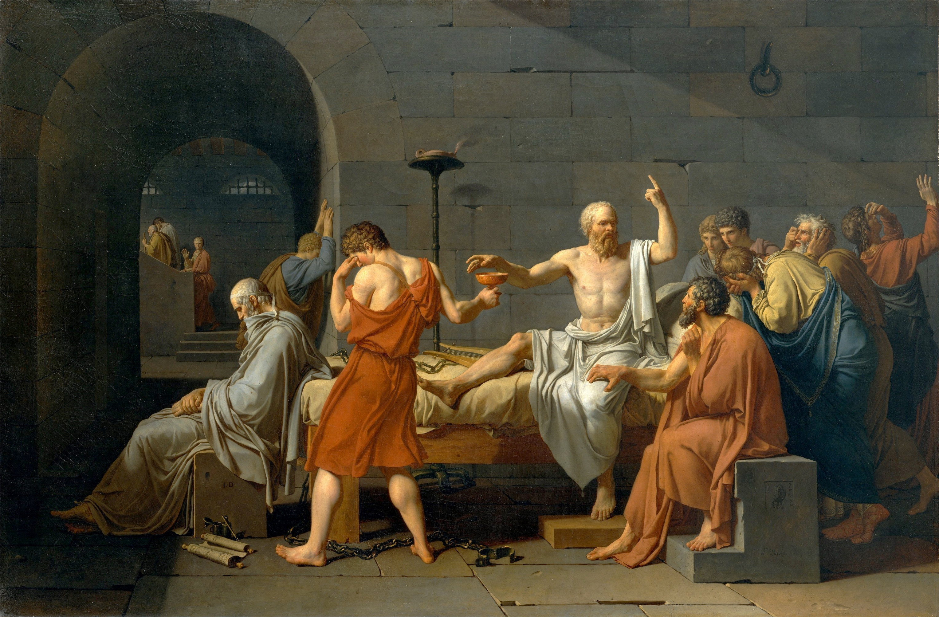 the demonstration of civil disobedience in the dialogue between socrates and crito He offers his help to socrates to escape from prison the main text of the dialogue is socrates' analysis of crito's arguments why he should escape from prison.
