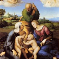 Рафаэль Санти. Святое семейство Каниджани.