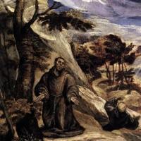 Эль Греко. Святой Франциск.