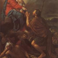 Жак-Луи Давид. Святой Рох молится Мадонне об исцелении зачумлённых.