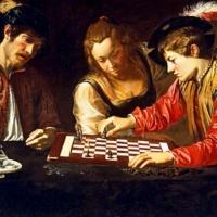 Караваджо. Игроки в шахматы.