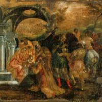 Эль Греко. Поклонение волхвов (Афины).