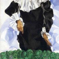 Белла с белым воротником. Шагал.