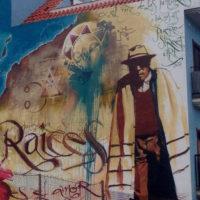 Пуэрто-де-ла-Крус. Граффити.