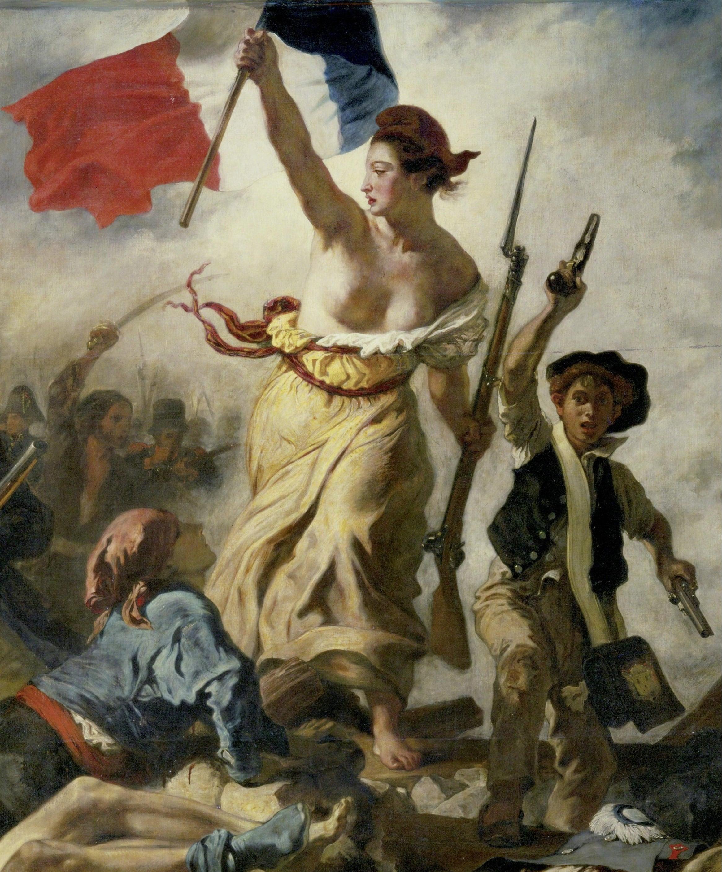 Картинки по запросу 'Свобода на баррикадах', 1831 год