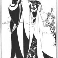 Бёрдслей. Иоанн Креститель и Саломея.