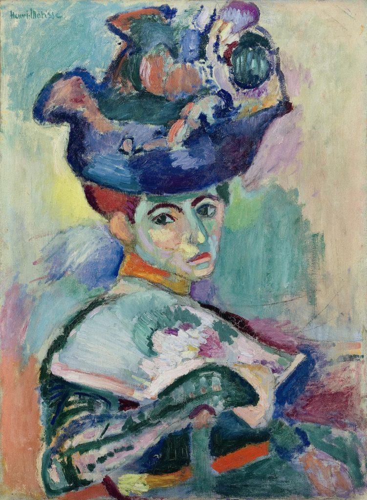 Женщина в шляпе. Матисс.