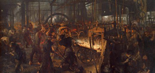 Железопрокатный завод. Менцель.