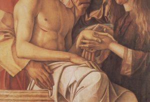 Оплакивание Христа. Фрагмент. Беллини.