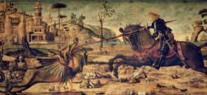 Святой Георгий и дракон. Карпаччо.