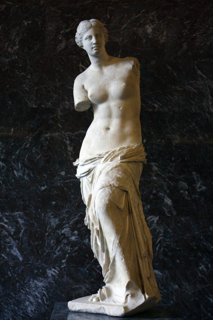 Греческая статуя