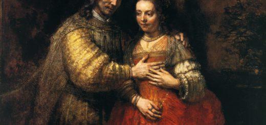 Еврейская невеста. Рембрандт.