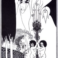 Бёрдслей. Иллюстрация к Саломее.