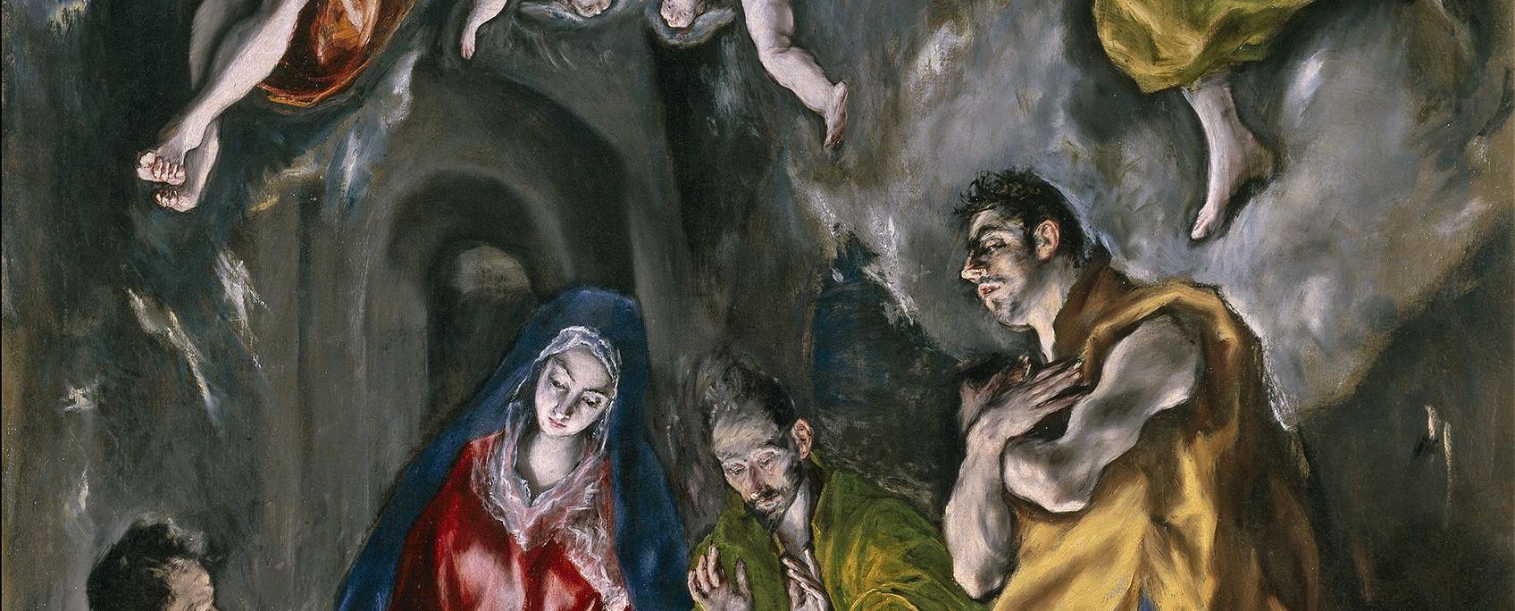 Поклонение пастухов. Эль Греко